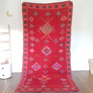 authentic berber red rug