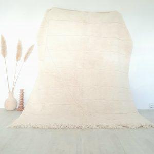 Tapis berbère Marocain 100% pure laine fait main