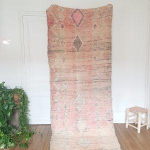 Vintage berber Boujaad rug