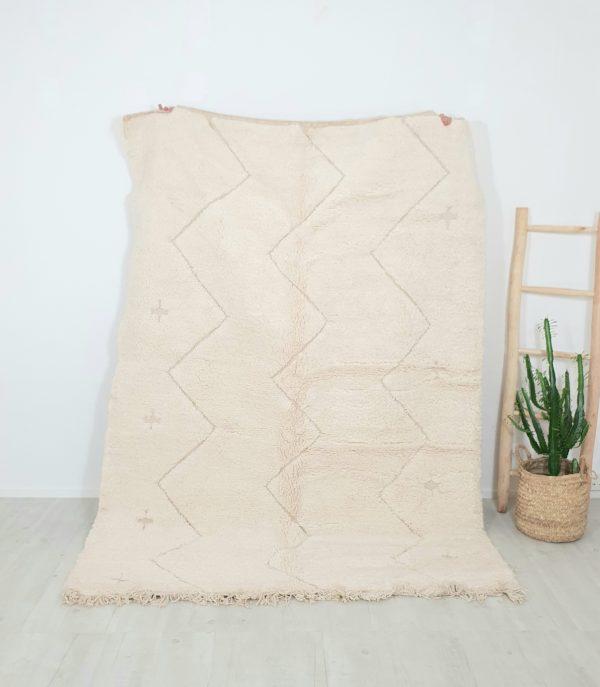 Tapis berbère Marocainen pure laine réalisé à la main