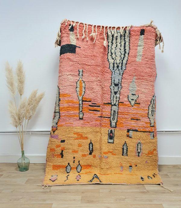 Tapis berbere Marocain 100% pure laine